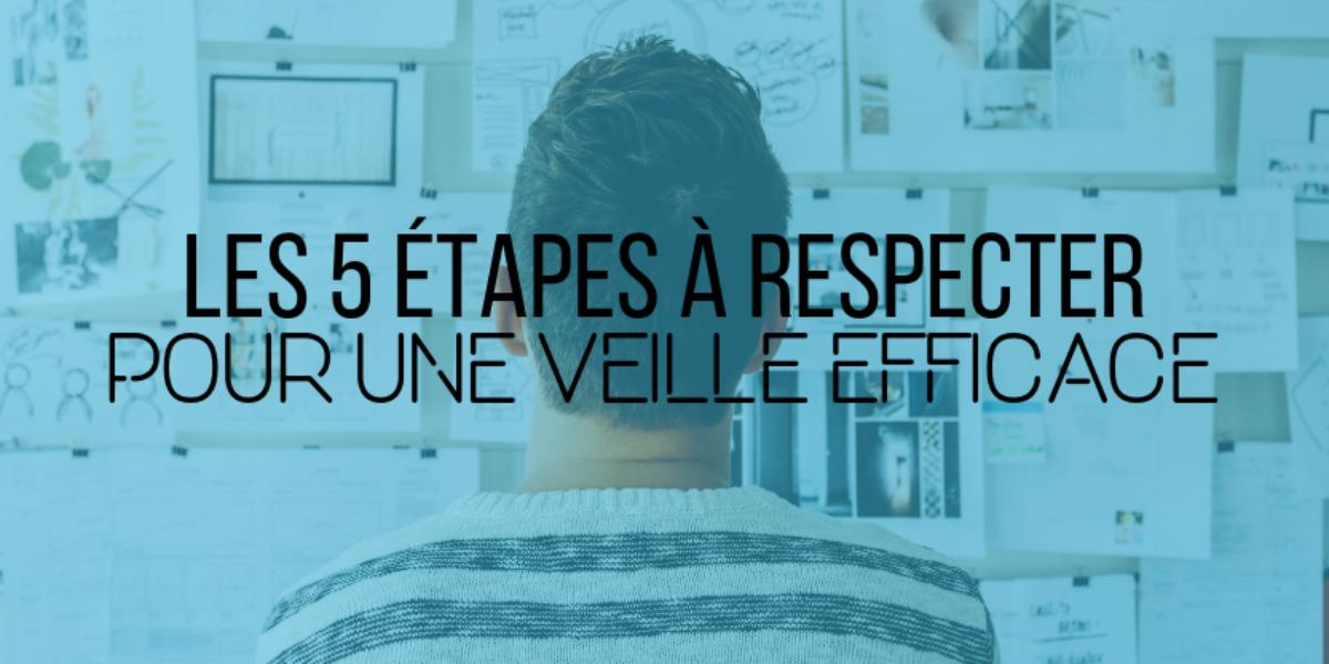 Les 5 étapes à respecter pour une veille efficace