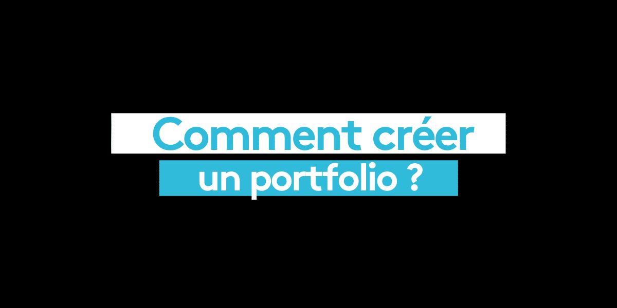 Comment créer un portfolio