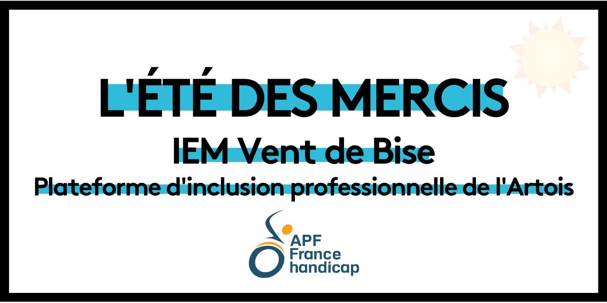 You are currently viewing L'été des mercis : IEM Vent de Bise
