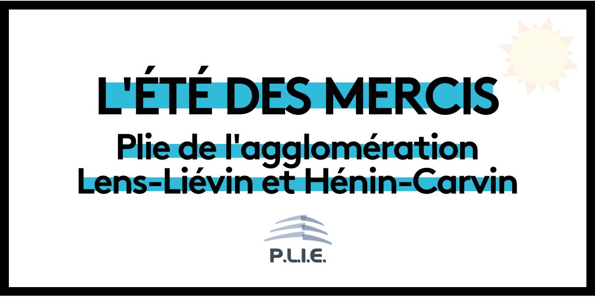 Read more about the article L'été des mercis : PLIE Lens-Liévin et Hénin-Carvin